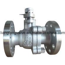 Válvula de bola de acero inoxidable RF 300lb (Q41F)