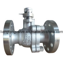 Válvula de esfera de aço inoxidável RF 300lb (Q41F)