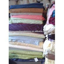 Tissu de literie 100% coton teint