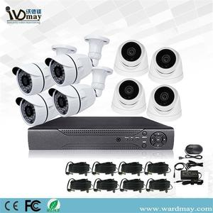 8chs 2.0MP Security Real Surveillance DVR-systemen