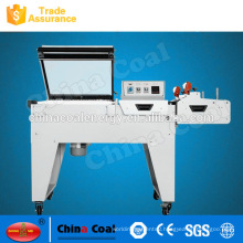 2017 hot selling 2 in 1 sealing heat shrink wrapping machine FM5540 with the best price