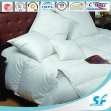 100% weiße einfache gesteppte Hotel-Gänsedaunen-Duvet (SFM-15-111)