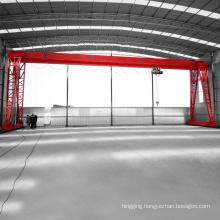 single girder 5ton truss small capacity gantry crane