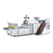 Máquina de producción de película elástica de una sola capa