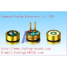 Omnidirezionale microfono Electret condensatore microfono utilizzato per la registrazione di attrezzature Φ4.0 * H1.5 mm