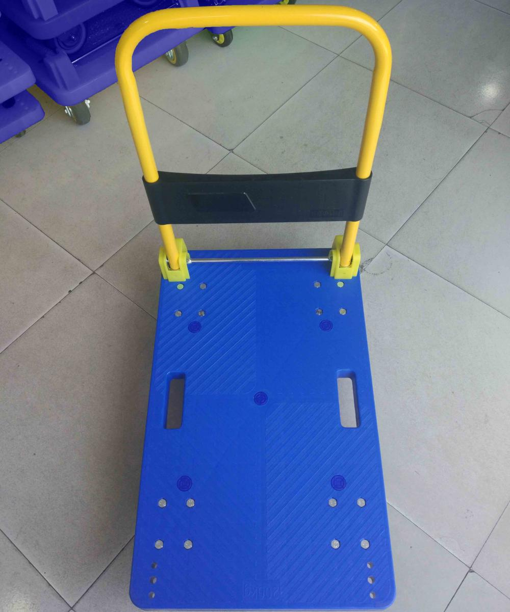 200kgs Platform Hand Cart Folding Trolly Push Dolly Top View