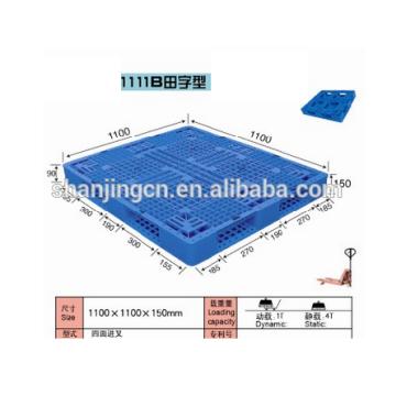Plastic pallet standard 1100*1100 mm / Euro size Heavy Duty
