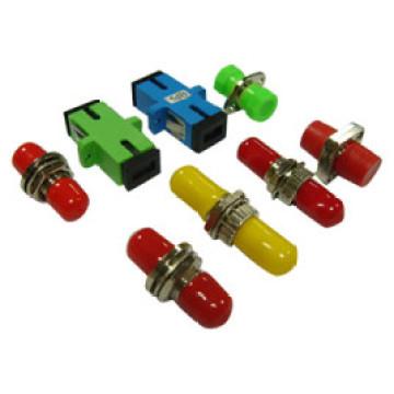 Sc, LC St, FC Adaptateur en fibre métallique ou plastique