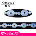 Blue Round Hole Opal Beaded Necklaces TRS190