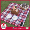 Rolling package polar fleece waterproof portable picnic mat