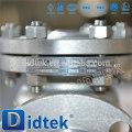 Proveedor de la válvula de China Cantidad del 100% probada antes de la entrega válvula de retención del colgante de la brida del wcb