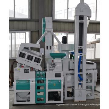 Moulin à riz combiné automatique de petite / moyenne échelle