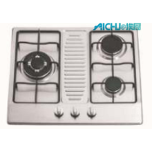 3 Burners Stainless Steel Kitchen Stoves