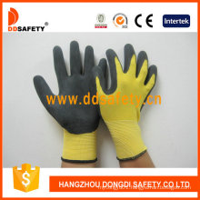 Black Nitrile Coating Sandy Finish Glove Dnn451