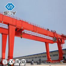 Hochleistungsdoppelstrahl-Bau-Portalkran 25 Tonnen