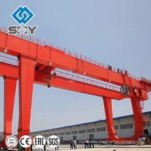 Heavy Duty Double Beam Construction Gantry Crane 25 Tons