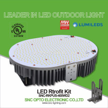 Temperaturkontrollschutz-UL genehmigte LED-Parkplatz-Licht-Nachrüstsatz-400W