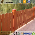 WPC Waterproof Long Life Outdoor Wood Plastic Composites Fence (for garden, park, meadow or a pasture, barnyard)
