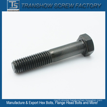 1/2*3.1/2 Inch Unc Black Zinc Coated Hex Cap Bolts