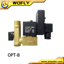 electric solenoid automatic water drain valve