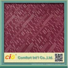Tissu en polyester en soie en velours