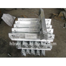 construction hardware, hot-dip galvanized crossarm