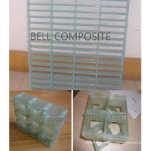 Grades Transparentes Bell FRP GRP