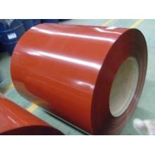 Aço revestido de cor galvanizado anti-corrosão pré-pintado
