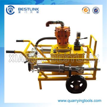 Gasoline Driven Hydraulic Splitter for Splitting