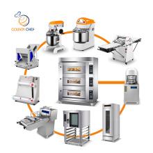 Golden Chef commercial dough sheeter divider baking mixer oven proofer bread baker slicer machine baking machine