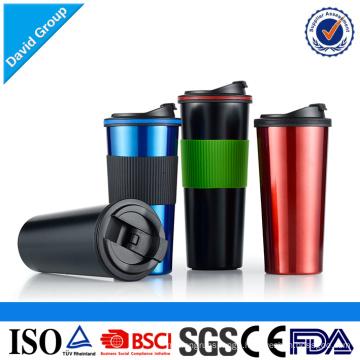 Heat Insulation Travel Drinking Wide Mouth Coffee Mug