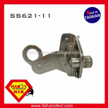 SS621-11 SS304 Acier inoxydable avec tige de corde 11mm 12mm Cordon pour les yeux Grab