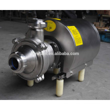 sanitary stainless steel self suck pump