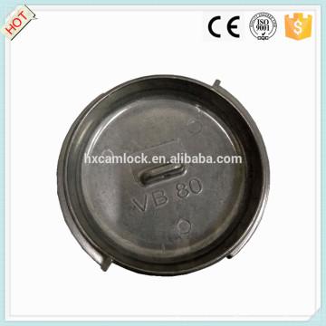Wagon-citerne en acier inoxydable couplage DIN 28450 VB avec une bonne qualité