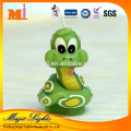 Lovely Green Snake Animal Shaped Zodiac Birthday Candle