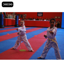 RedBlue Color Jigsaw Martial Arts Mats en venta
