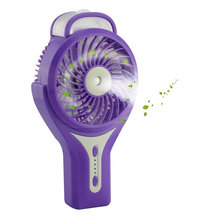 Portable Handheld Mini USB Bladeless Oscilating Table Fan