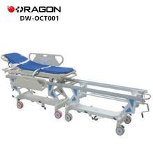 Nuevo diseño DW-CT001 CE y ISO Hospital aprobado que conecta la carretilla paciente