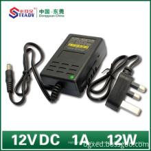 Desktop-Typ Netzteil 12VDC 1A
