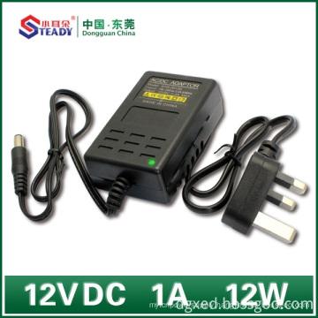 Desktop Type Power Adapter 12VDC 1A