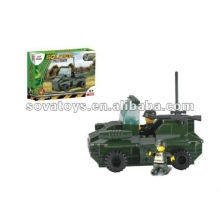 Building Blocks Soldier Toy