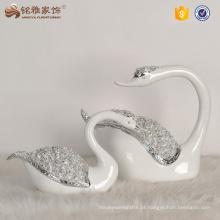Casa de presente de casamento, peças centrais, resina, pato, artes, presente, decoração de casa