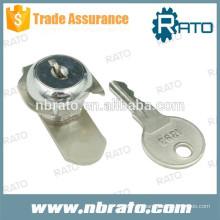 RC-122 Schlüssel aus poliertem Edelstahl-Nockenverschluss
