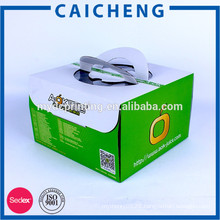 Customized Colorluxury Cake Box Packaging With Handle