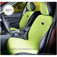 Car Seat Cover Flat Shape Ice Silk-Green