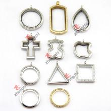 Joyería pendiente del collar del colgante del Locket del acero inoxidable (ZC-SS10-19)