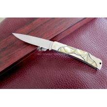 Cuchillo plegable del acero inoxidable 420 (SE-G288)