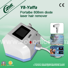 Y8 Clinc verwendet Starke Energie 808nm Diode Laser Haarentfernung