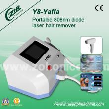 Y8 Clinc Используется Сильная Энергия 808nm Диодная Лазерная эпиляция