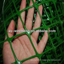 Treillis métallique en treillis en treillis en plastique de haute qualité filet en plastique